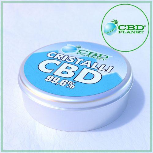 CBD Crystal - Cristalli di CBD purissimo 99,6%